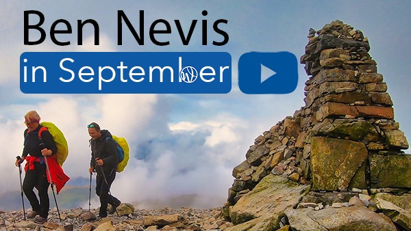 Guided walk up Ben Nevis in September