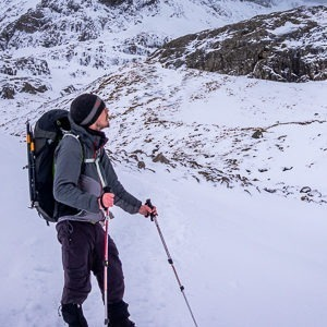 Developing winter mountaineering skills on Ben Nevis and Glencoe