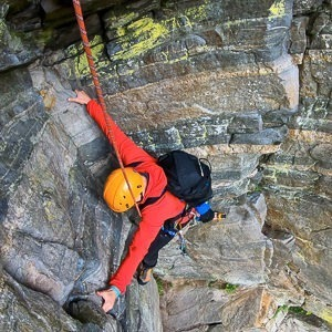 Guided rock climbs on Ben Nevis