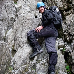 Guided scrambling in Scottish Highlands