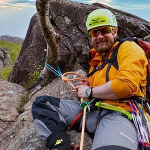 Introduction to rock climbing near Fort William