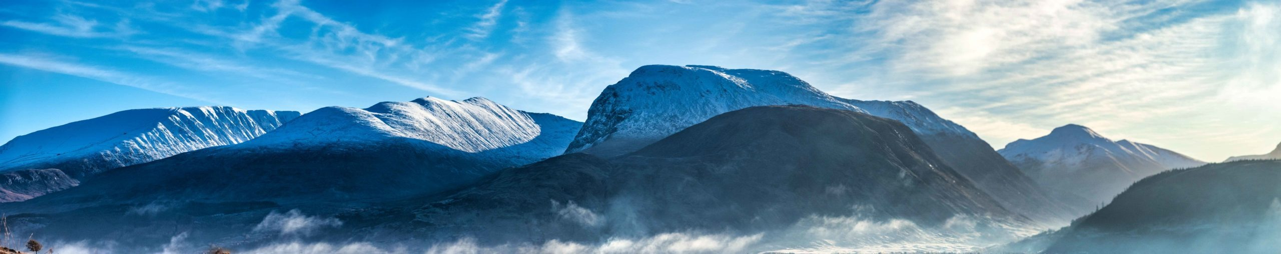 Ben Nevis in Winter conditions. Shot by one of our Ben Nevis Guides