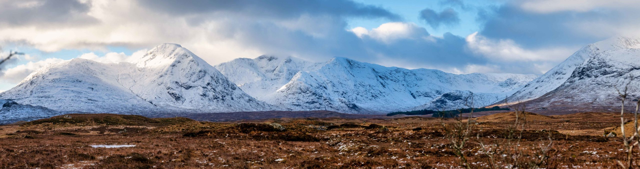 Stob A Choire Odhair from Black Mount.Shot by one of our Ben Nevis Guides