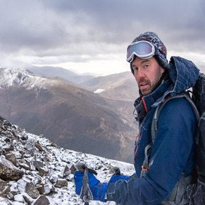 Guided winter ascent of Ben Nevis