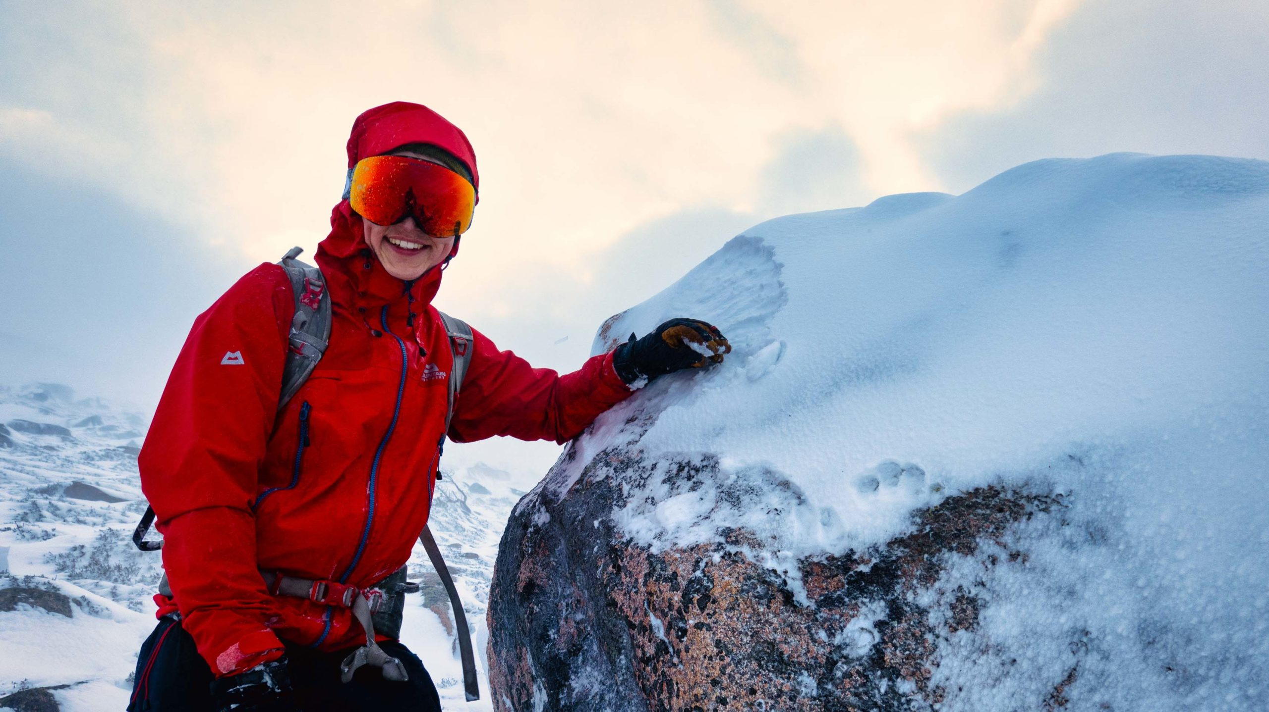 Winter Skills Glencoe.Shot by one of our Ben Nevis Guides