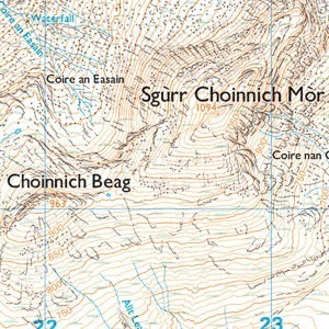 How to map read in the Scottish Mountains