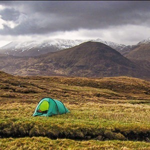 How do I go wild camping in Scotland