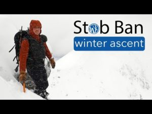 Stob Ban in Winter